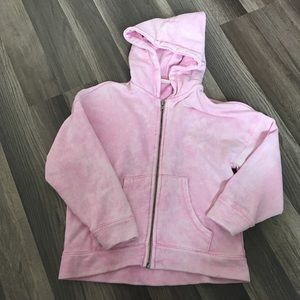 Girls Zara Collection Pink Hoodie